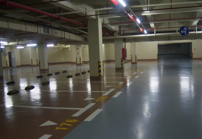 经济型停车场地坪涂装系统