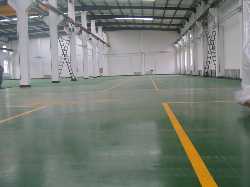耐用型停车场地坪涂装系统