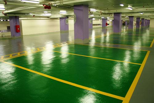 超止滑停车场地坪涂装系统
